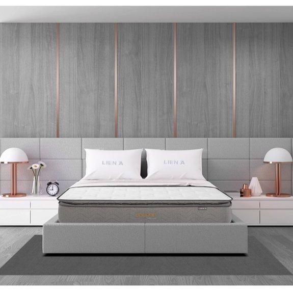 Nệm lò xo Liên Á Cocoon Grey Luxe